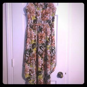 🌸Flowy Floral Spring Dress